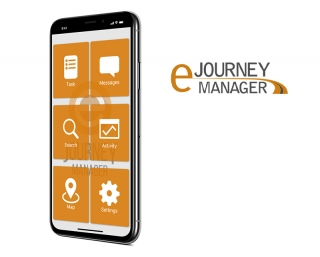 eJourney Manager mobile application created by Vog App Developers Calgary. A mobile software development company.