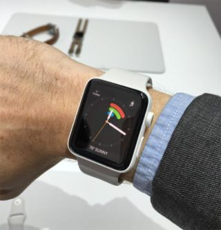 Apple series 2 watch