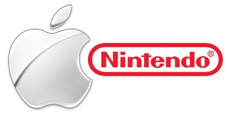 nintendo and apple logo together