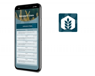Johnston Grain mobile application created by Vog App Developers Calgary. A mobile software development company located in Calgary, Alberta, Canada.
