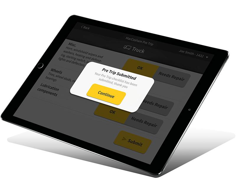 Maccoham pre trip mobile application created by Vog App Developers Calgary. A mobile software development company.