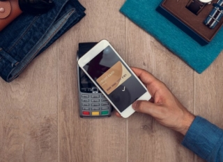 Shopping using a mobile wallet app