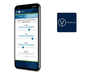Victory Lab mobile application created by Vog App Developers Calgary. A mobile software development company.