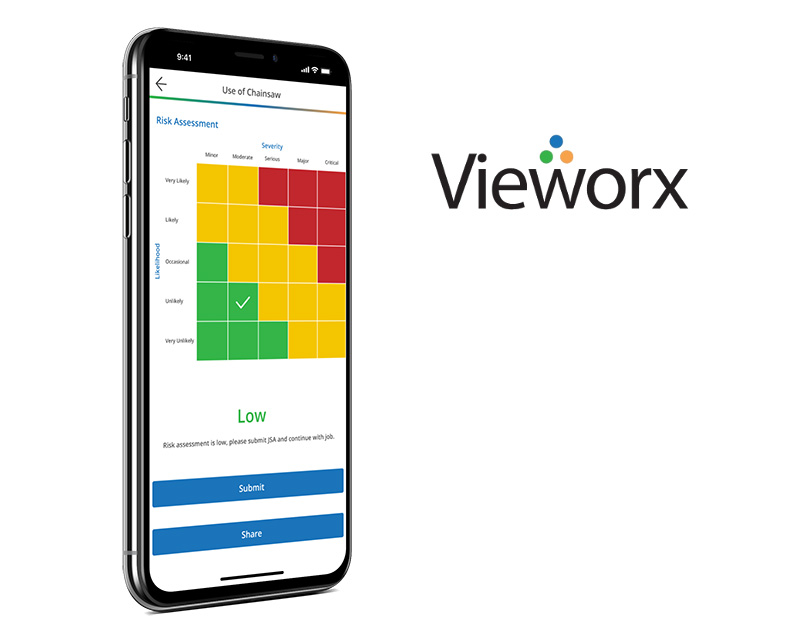 Vieworx mobile application created by Vog App Developers Calgary. A mobile software development company located in Calgary.