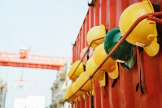 Construction site where mobile apps could help improve productivity